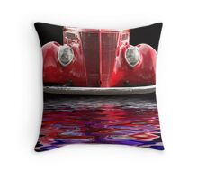 Red Hot Ford Throw Pillow