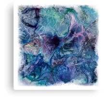 Jack Frost's Scribbles 1 (with frame) Canvas Print