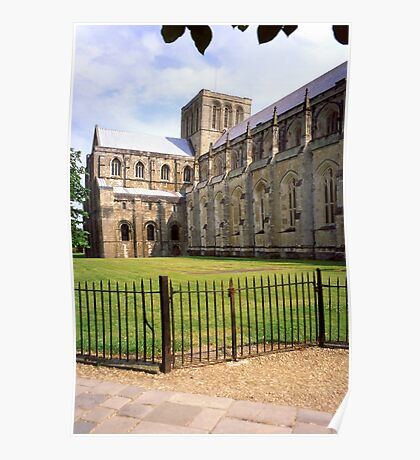 Winchester Cathedral from the South-West Poster
