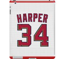 Bryce Harper Jersey iPad Case/Skin