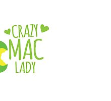 Crazy MAC Lady by jazzydevil