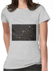 Pebbles. Womens Fitted T-Shirt