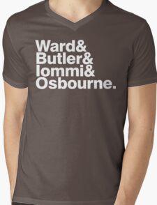 Black Sabbath member list last names ampersand shirt Mens V-Neck T-Shirt