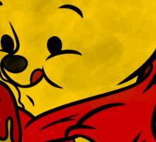 Freddy Fazbear & Winnie the Pooh Mashup Sticker