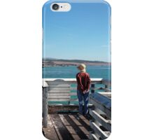 Out at the Pier iPhone Case/Skin