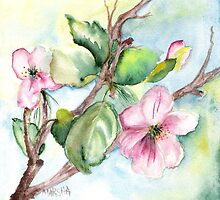 Spring Blossoms by Marsha Woods