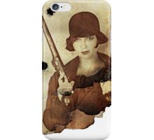 Louise Brooks  and her guns iPhone Case/Skin