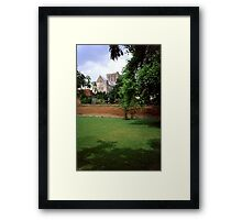 Winchester Cathedral from Outside the Close Wall Framed Print
