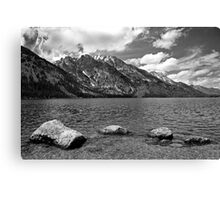 Teton Thunder Canvas Print