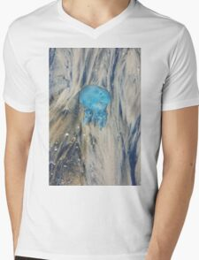 Jellyfish Mens V-Neck T-Shirt