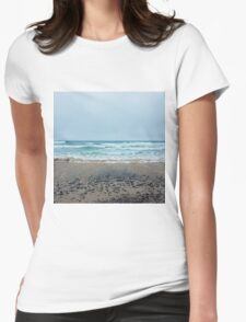 Square coast. Womens Fitted T-Shirt