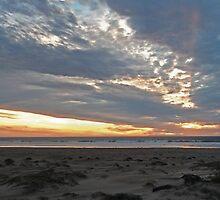 Ocean Sunset by IronyArts