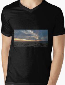 Ocean Sunset Mens V-Neck T-Shirt