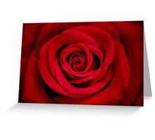 Red Flame Greeting Card