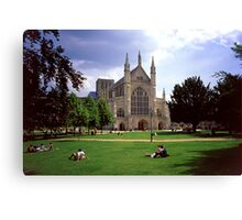 Winchester Cathedral 6 Canvas Print