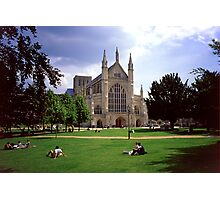 Winchester Cathedral 6 Photographic Print