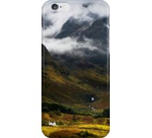 Blaven and malevolent weather. Isle of Skye, Scotland. iPhone Case/Skin