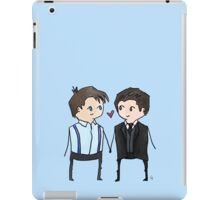 Jack And Ianto Chibis iPad Case/Skin