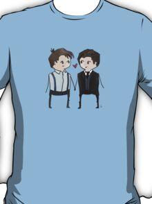 Jack And Ianto Chibis T-Shirt