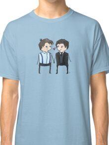 Jack And Ianto Chibis Classic T-Shirt