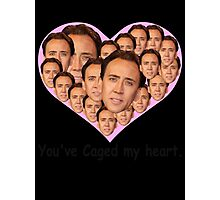You've caged my heart Photographic Print