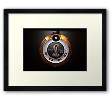 Mean Thing Framed Print