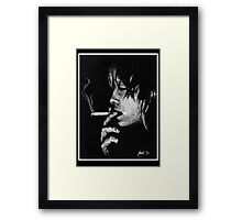 Death Stick Framed Print