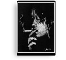 Death Stick Canvas Print
