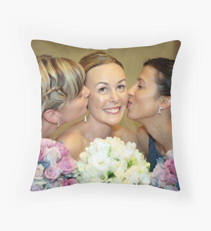 Bridesmaids Throw Pillow