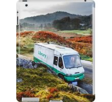 Library Van in the Lake District iPad Case/Skin
