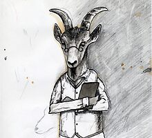 Doctor Dillamond the Goat by Paul Compton