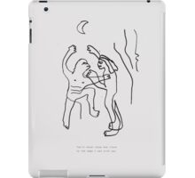 You'll never know iPad Case/Skin