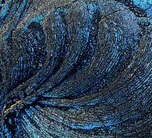 Evening lava flow - Hawaii by Rob Watson