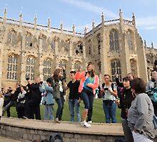 The Tourists (Windsor, 2014) by CreativeEm