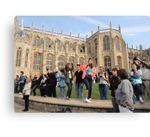 The Tourists (Windsor, 2014) Canvas Print