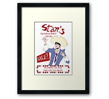 Monkey Island - Stan's coffins Framed Print