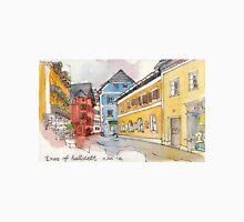 Travelsketch- Town of Hallstatt in Austria Unisex T-Shirt