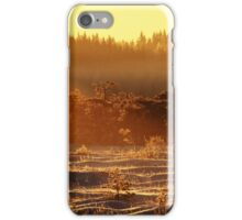 29.12.2014: Winter Morning at Torronsuo National Park II iPhone Case/Skin