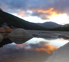 Tidal River Sunrise by Catherine Davis