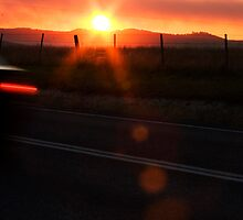 Sunset in My Eyes by SLRphotography