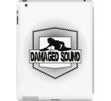 damage sound iPad Case/Skin