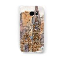 Travelsketch- Church in Hallstatt, Austria Samsung Galaxy Case/Skin