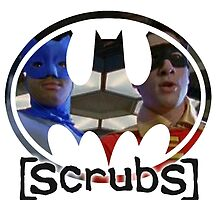 Scrubs - Batman & Robin - JD & Turk by Laren17