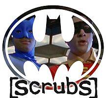 Scrubs - Batman & Robin - JD & Turk by Laren17
