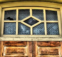 Broken Window & Bell by NawfalNur