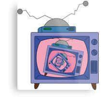 crazy tv simpsons Metal Print