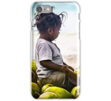 Child on Coconuts iPhone Case/Skin