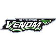 Slytherin Venom Photographic Print