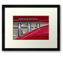Super-charged Framed Print