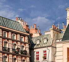 Roofs in Paris by numgallery